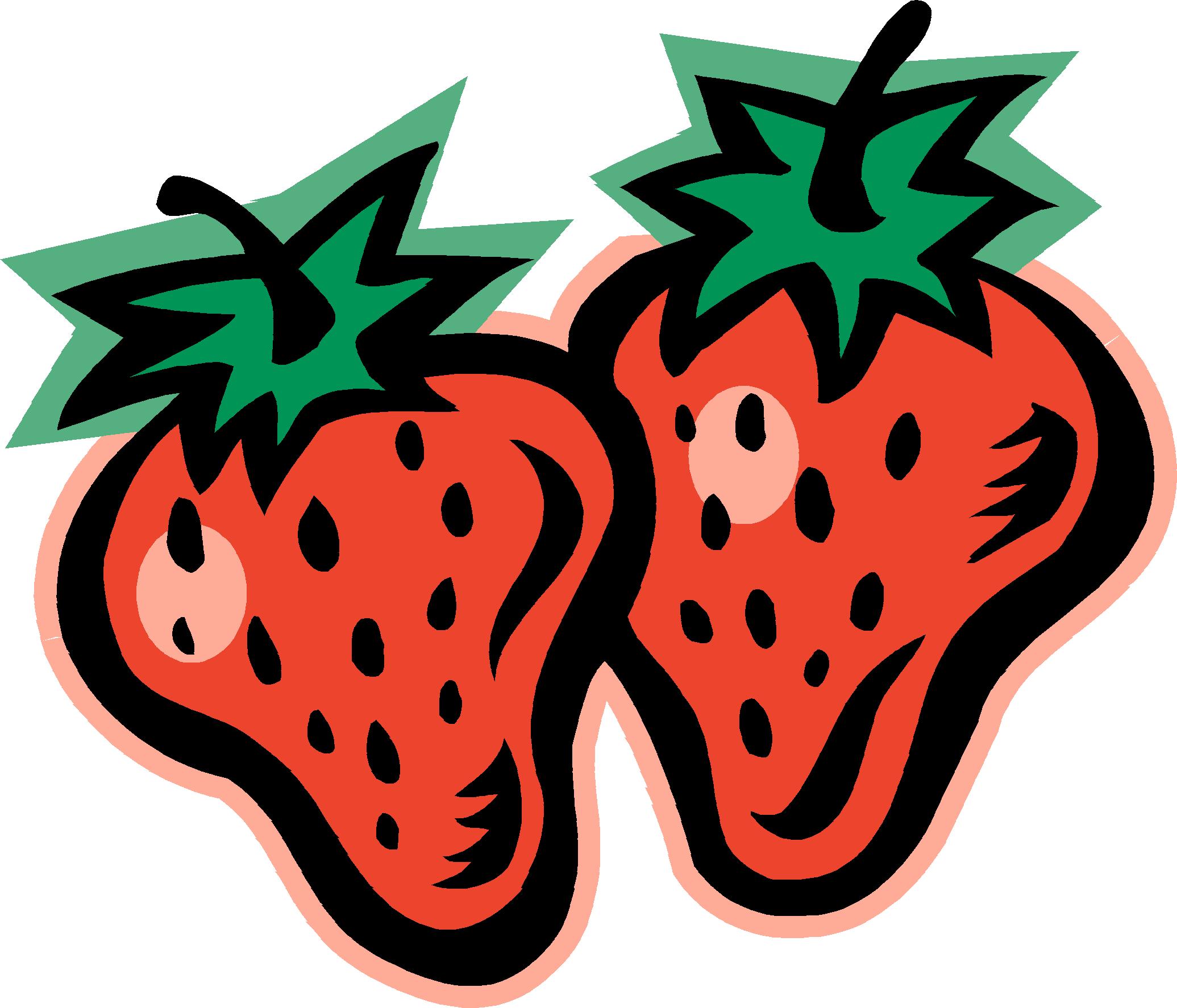 2071x1774 Clip Art Strawberry