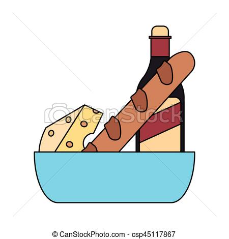 450x470 Baguette French Vector Clipart Royalty Free. 1,972 Baguette French
