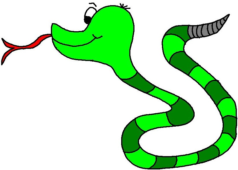 823x588 Rattlesnake Clipart Ular Free Collection Download And Share