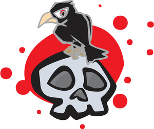 300x253 Free Raven Clipart Image 0527 1305 1315 3836