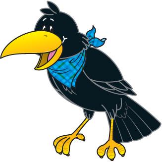 327x327 Top 76 Crow Clip Art
