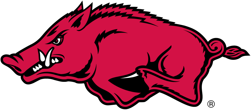 1010x445 Razorback Symbol Arkansas Razorbacks Alternate Logo Ncaa Division
