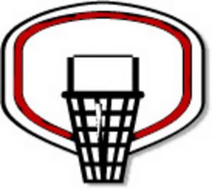300x267 Basketball Goal Clipart Basketball Goal Clipart Basketball Through