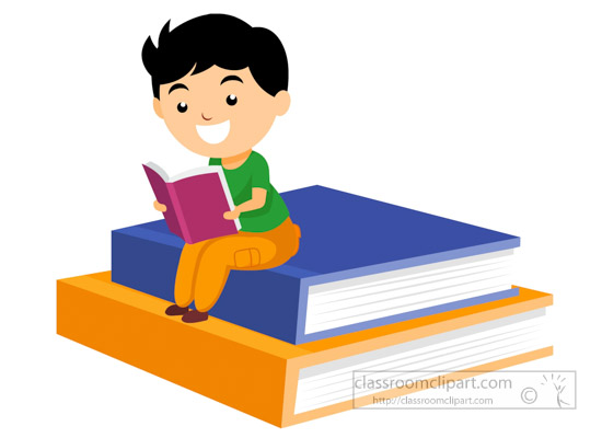 550x400 Reading Books Clipart Reading Clipart Student Reading Book Sitting
