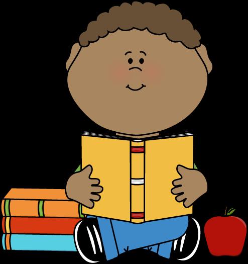 494x525 Boy Reading Clip Art Little Boy Reading A School Book Clip Art
