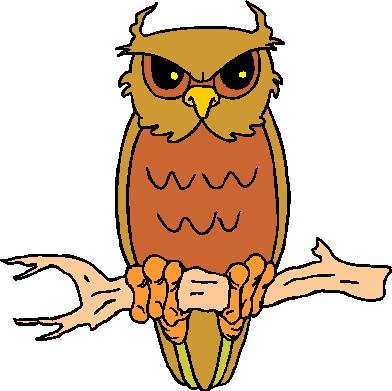 392x391 Owls Clip Art Farm