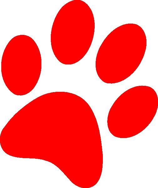 504x598 Dog Paw Print Clip Art