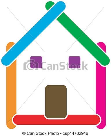 383x470 Real Estate House Logo Eps Vector