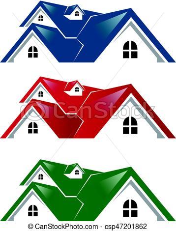 358x470 Real Estate Logo House Vector Clip Art Vector