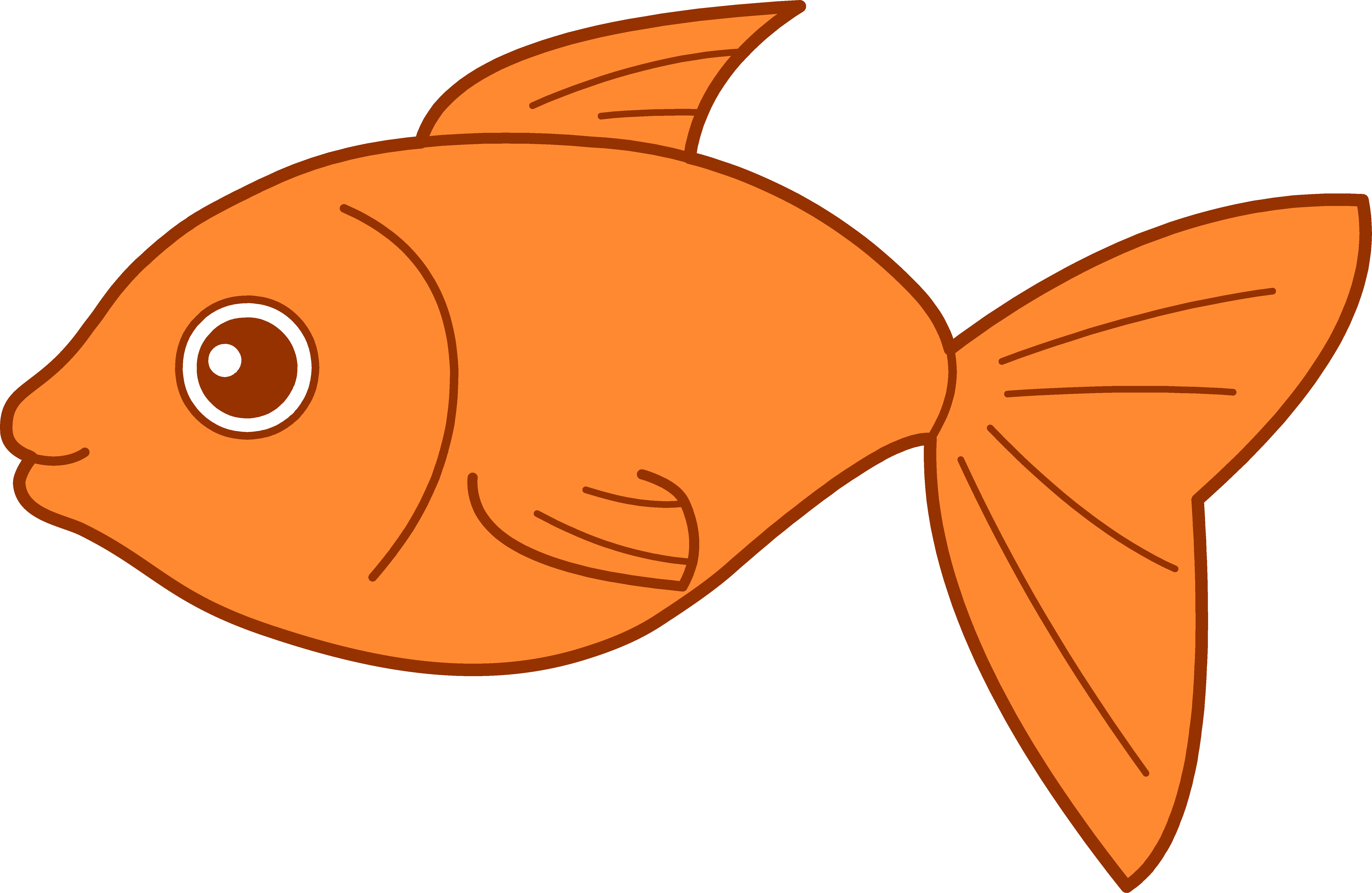 6805x4431 Just Arrived Cartoon Pic Of Fish Cute Royalty Free Vector Image