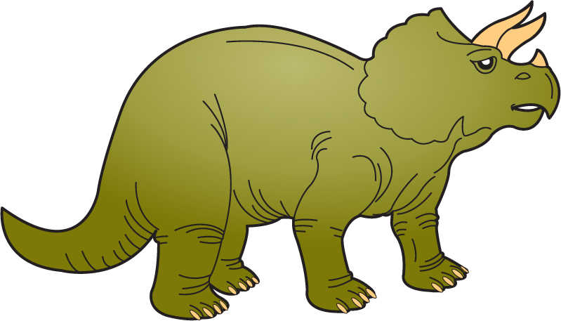 799x457 Triceratops Clipart