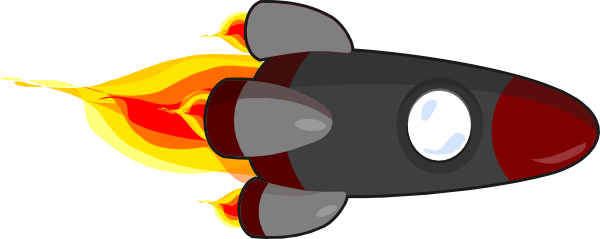 600x239 My Rocketship Edit (Realistic) Clip Art