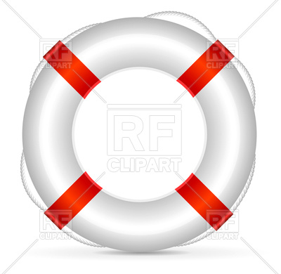 400x390 Realistic Lifebuoy Royalty Free Vector Clip Art Image
