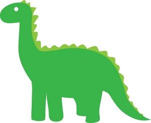 300x244 Cute Dinosaur Clipart Clipartwiz 2 8