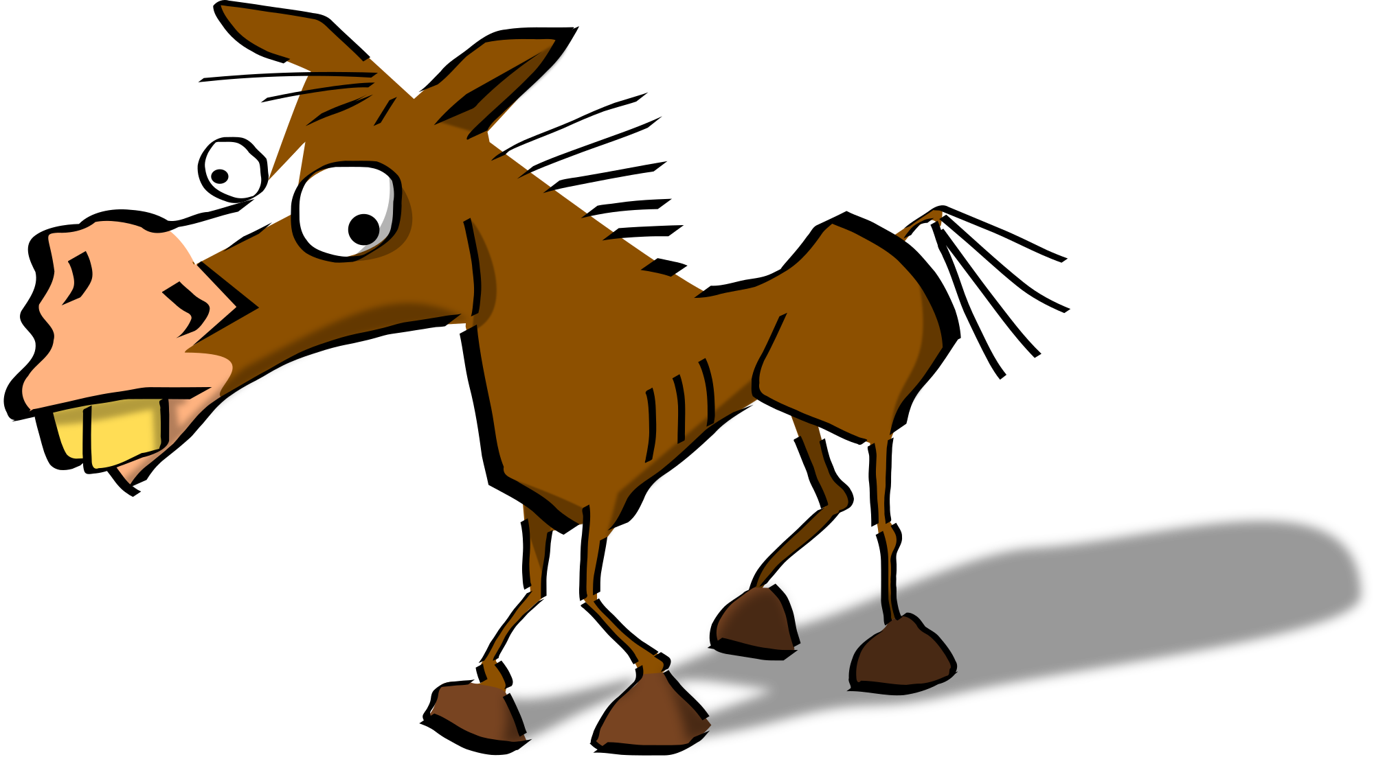 2000x1103 Collection Of Horse Head Clipart Png High Quality, Free