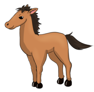 300x295 picture of horse clipart
