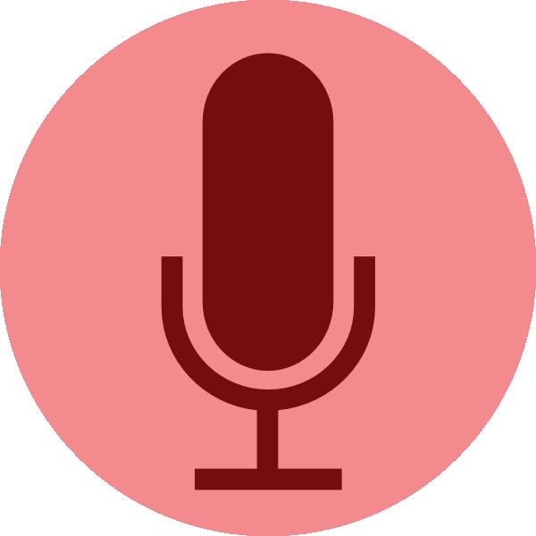 600x600 Record Button Microphone Clip Art
