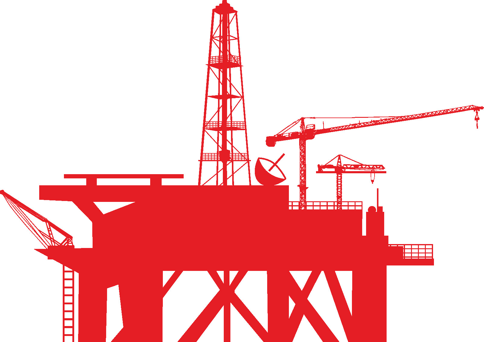 1605x1135 Derrick Drilling Rig Icon Royalty Free Vector Clip Art Image