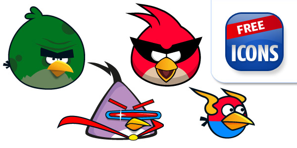600x300 Angry Birds Space Clipart