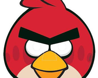 340x270 Mask Clipart Angry Bird