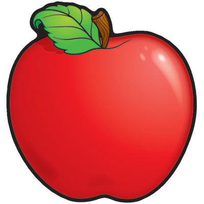 400x400 Free Clipart Red Apples Apple Clip Art At Clker Com Vector Online