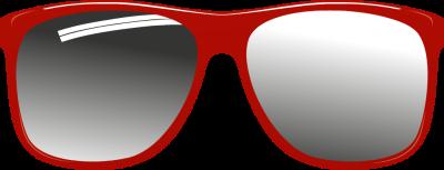 400x153 Nerd Glasses Clipart