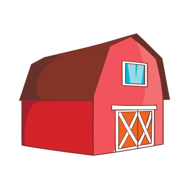 612x612 Brilliant Red Barn Door Clip Art Decorating Design Of Red Barn