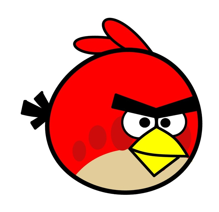 736x712 Collection Of Angry Bird Drawing For Kids High Quality, Free