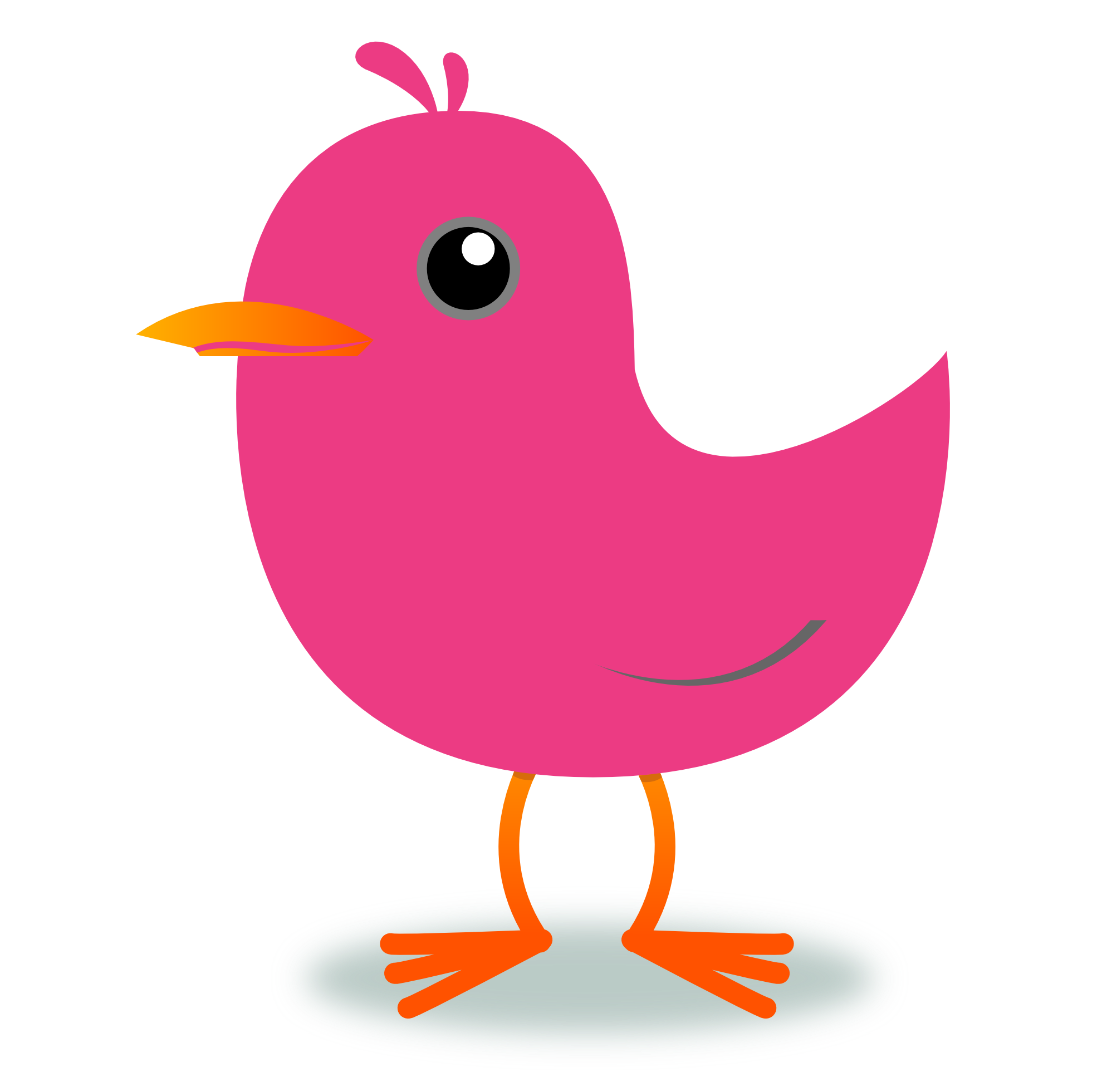1979x1962 Collection Of Twitter Bird Clipart High Quality, Free