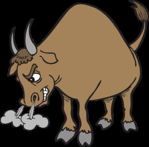 300x297 Free Clipart Bull