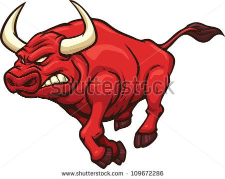 450x357 Red Bull Clipart Wild Bull 3843391