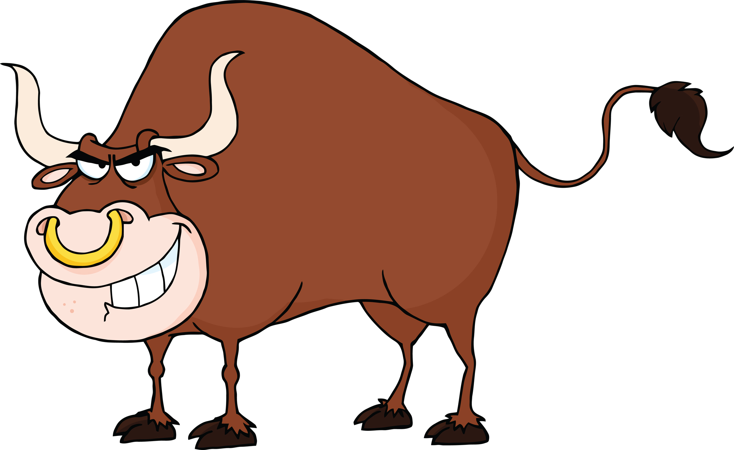 2400x1471 Clipart Bull Clipartlook
