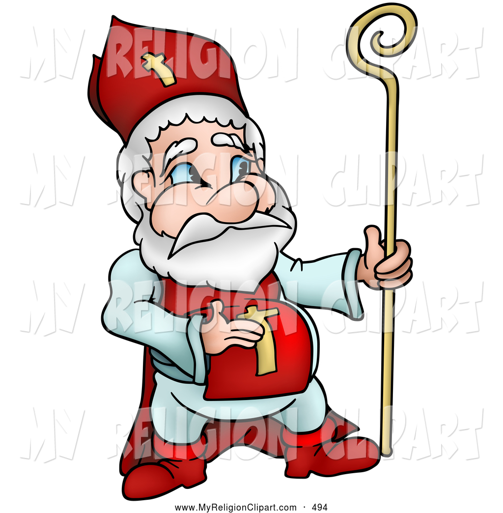 1024x1044 Religion Clip Art Of A Religious Cardinal In Red By Dero