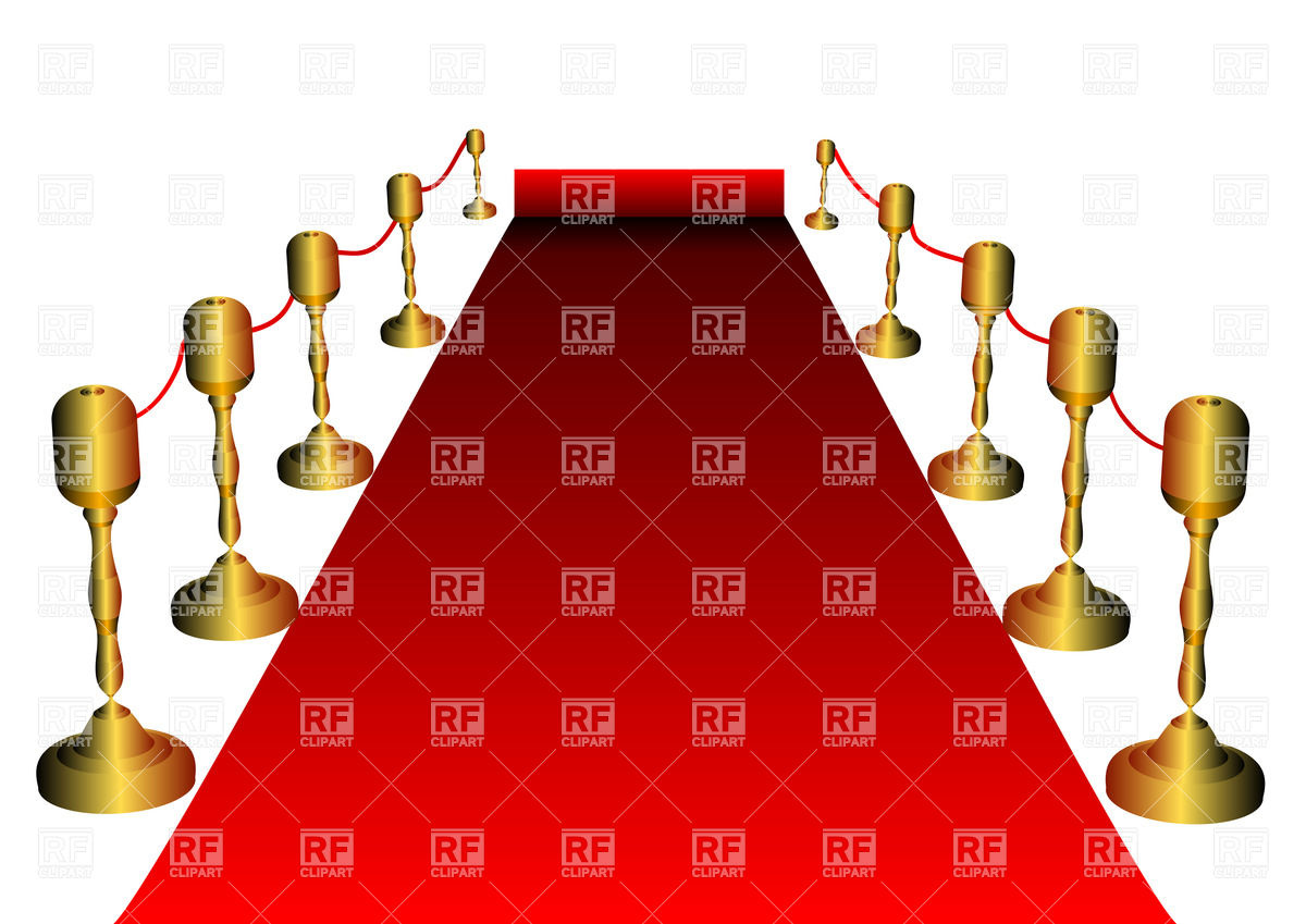 1200x849 Red Carpet With Golden Stanchions Isolated On White Royalty Free