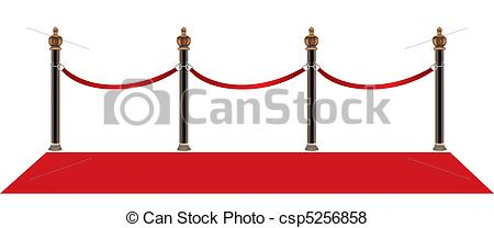 450x208 Vector Red Carpet Entrance With The Stanchions And The Ropes