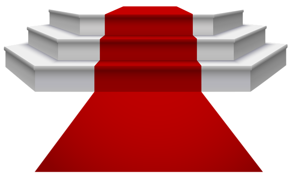 600x360 White Podium With Red Carpet Png Clipart Image Png Jpg