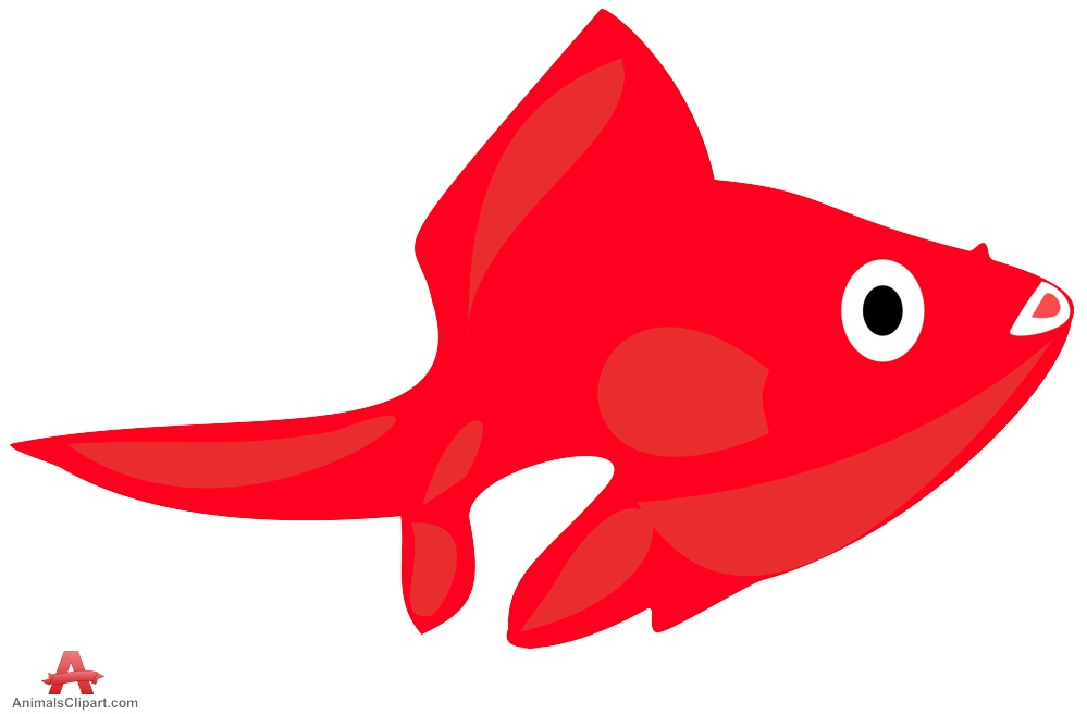 999x656 Red Fish Clipart