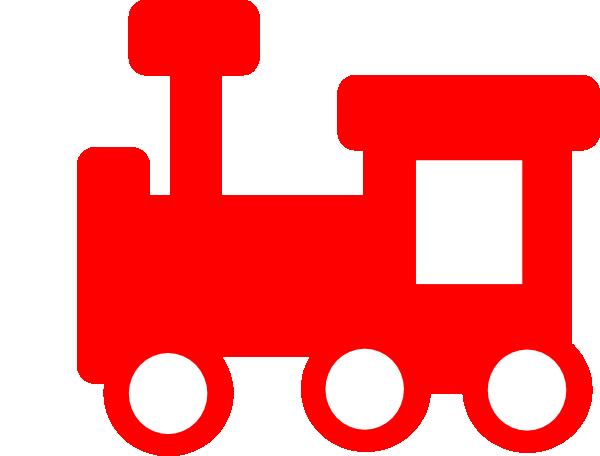 600x456 Red Train 2 Clip Art