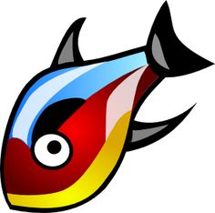 236x234 Multiple Fish Cliparts