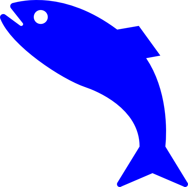 600x596 Red Fish Blue Fish Clipart