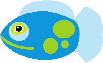 340x210 Tropical Fish Clipart Blue Fish 4013139
