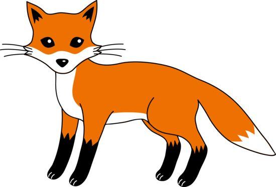 550x373 Free Clever Red Fox Clip Art Clipart Panda