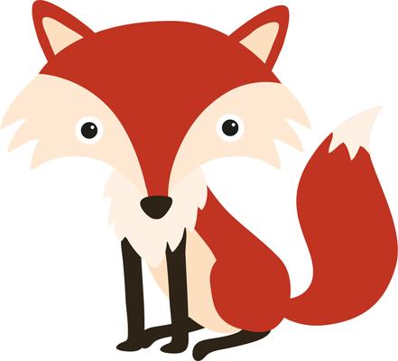 441x400 Top 89 Red Fox Clip Art