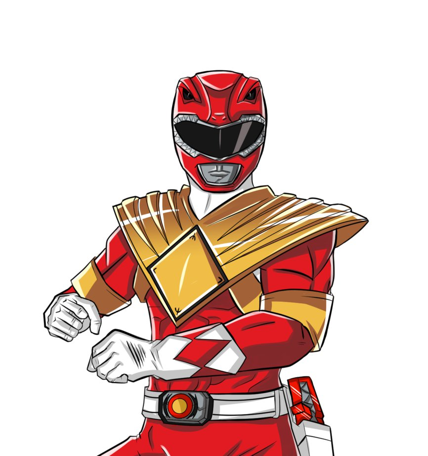 866x923 Mighty Morphin Power Rangers