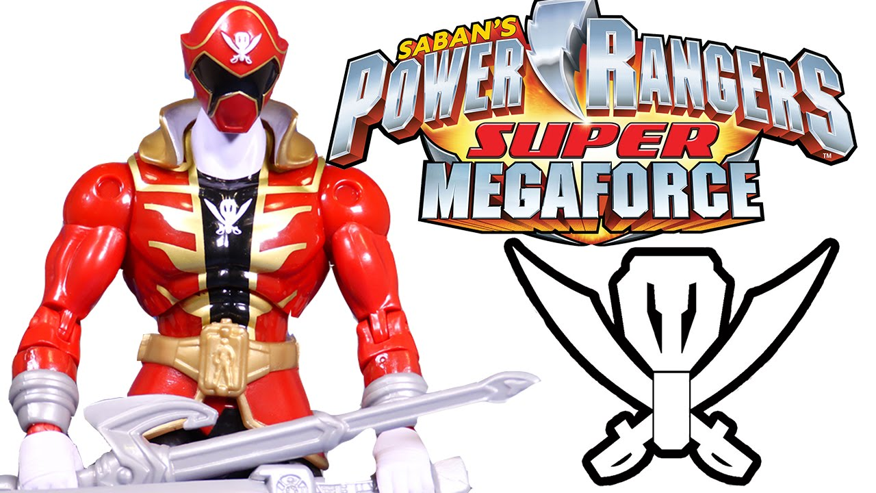 1280x720 Armoured Super Mega Red Ranger