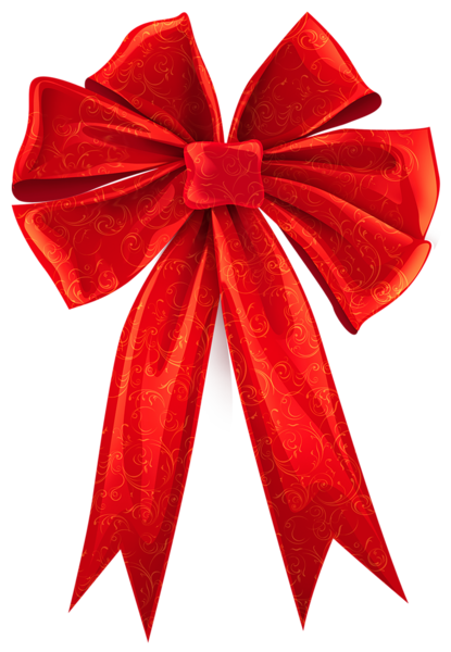 415x600 Red Bow Clip Art