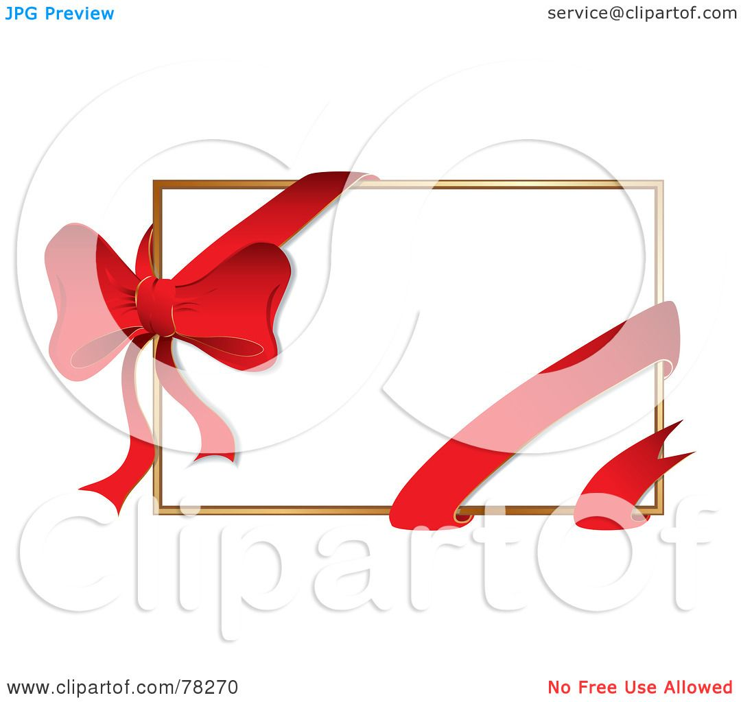 1080x1024 Royalty Free (Rf) Clipart Illustration Of White Gift Card