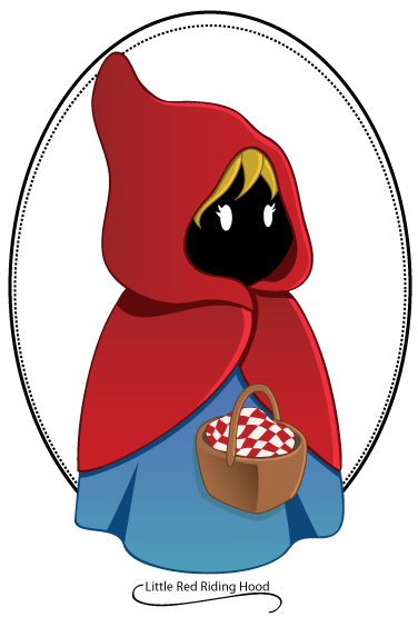 376x555 Little Red Riding Hood