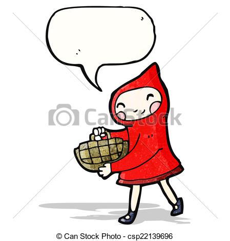 449x470 Little Red Riding Hood Cartoon Eps Vectors