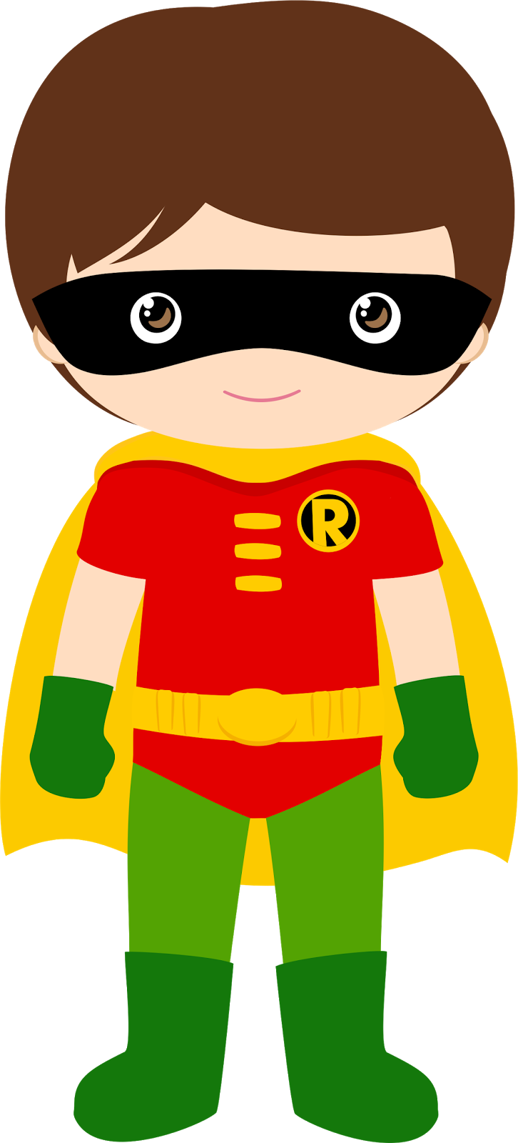 726x1600 Characters Of Batman Kids Version Clip Art. Super Hero